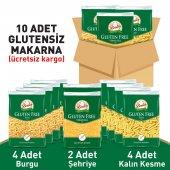 Beşler Glutensiz Lezzetli Makarna Paketi 10lu Koli