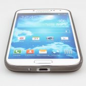 Samsung i9500 Galaxy S4 Süper Slim Kılıf 0.3 mm - Gri-4