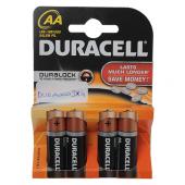 Duracell LR6/MN1500 AA 1.5V Kalem Pil 4 Adet