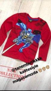 Spiderman tshirt ve batman tshirt