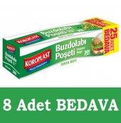 Koroplast 38 Adet Orta Boy Buzdolabı Poşeti 24x38c...