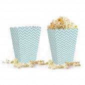 10 adet Zigzag ( Popcorn ) Mısır Kutusu-3