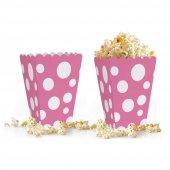 10 adet Puantiyeli ( Popcorn ) Mısır Kutusu-5
