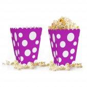 10 adet Puantiyeli ( Popcorn ) Mısır Kutusu-6
