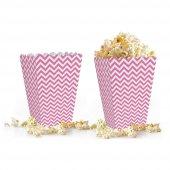 10 adet Zigzag ( Popcorn ) Mısır Kutusu-6
