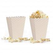 10 adet Zigzag ( Popcorn ) Mısır Kutusu-8