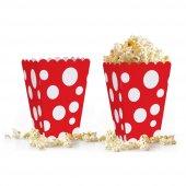 10 adet Puantiyeli ( Popcorn ) Mısır Kutusu-8