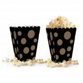 10 adet Puantiyeli ( Popcorn ) Mısır Kutusu-10