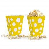 10 adet Puantiyeli ( Popcorn ) Mısır Kutusu-7