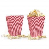 10 Adet Zigzag (Popcorn) Mısır Kutusu