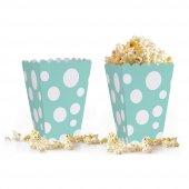 10 adet Puantiyeli ( Popcorn ) Mısır Kutusu
