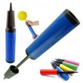 100 adet KİKAJOY Baskısız Metalik Balon Turuncu + Balon Pompası-2