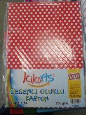 20 adet KİKA OLUKLU KARTON A4 DESENLİ KARIŞIK (OLK-006)
