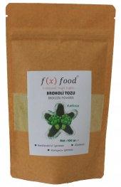Fx Food Brokoli Tozu 100 Gr