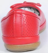Caprito Kırmızı Antibakteriyel Pedli Poli Taban Babet Modeli Baya-4