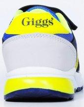 Giggs Sarı Lacivert Gri Lastili Cırtlı AntiBakteriyel Pedli Filel-4