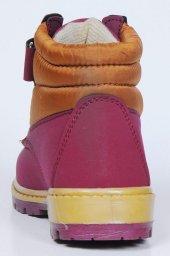 Çocuk Ayakkabısı Sarı Kırmızı-4