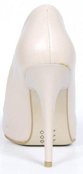 Bayan Stiletto Ayakkabı Rugan-4