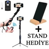 Yunteng Selfie Çubuğu Monopod Bluetooth Kumandalı Kablosuz Tripod