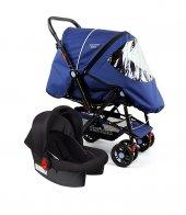 Diamond Baby P 101 Çift Yönlü  Bebek Arabası Travel Sistem Bebek Arabası-4