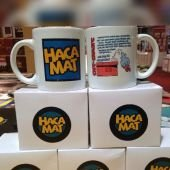 Emmareli Hacamat Logolu Çay Kahve Kupa