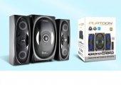 Pl 4240 2+1 Usb Sd Fm Bluetootlu U.k. Speaker...