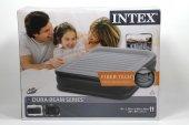 Intex Elektrikli Dura - Beam Yatak 152x203x42 cm Fiber Technology  -2