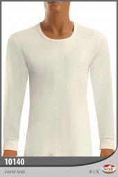 şahin Marka, Erkek, Yuvarlak Yaka T Shirt, Uzun Kol, Kışlık İçlik, 6 Adet.