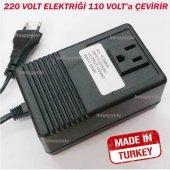 Elektrik gücü dönüştürücü konvertör 220 volt elektriği 110 volta