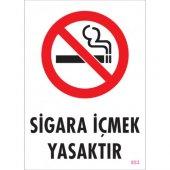 Sönsan Uyarı Levhaları Sigara İçmek Yasaktır Pvc 25*35