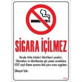 Sönsan Uyarı Levhaları Sigara İçilmez Pvc 25*35