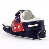 Teo Bebe 3500 100 Beyaz Deri Ortopedik Erkek Çocuk Ayakkabı-2