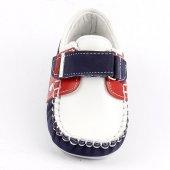 Teo Bebe 3500 100 Beyaz Deri Ortopedik Erkek Çocuk Ayakkabı-3