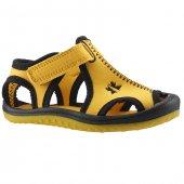 Ayakland Kids Sarı Siyah Aqua Erkek Çocuk Sandalet Panduf Ayakkabı