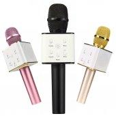 Karaoke Bluetooth Mikrofon Q7 Usb Girişli