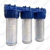 Bina Sayaç Girişi Su Arıtma Sistemi Filtresi 10