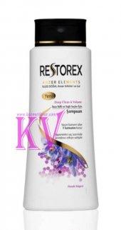 Restorex Şampuan 600 Ml Arındırıcı İnce Telli Yağlı Saçlar