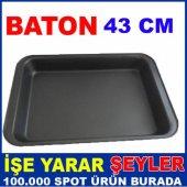 43x26 DİKDÖRTGEN BÜYÜK BOY TEFLON FIRIN TEPSİSİ