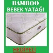 70x100 Ortopedik Bambu Bebek Yatağı