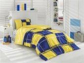 Taç Uyku Seti Kristal Sarı Lacivert Uyku Seti