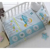 Taç Uyku Seti Kristal Bebek Uyku Seti Happy Baby Uyku Seti
