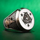 Teşkil� T I Mahsusa Yüzüğü (Osmanlı Arması Tuğrası)