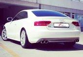 Audi A5 B8 2007.2016 Difüzör, S Line St., Sağ+sol Çiftli Çıkış,