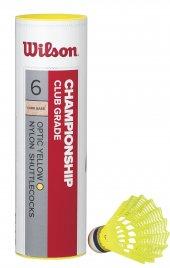 Wilson 6lı Sarı Badminton Topu Championship 78...