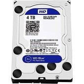 """WD Blue 4TB 5400RPM Sata 3.0 64MB 3.5"""" Sabit Disk WD40EZRZ-2"""