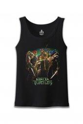 Ninja Turtles Siyah Erkek Atlet