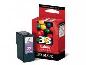 Lexmark 33 Orjinal Renkli Kartuş 18cx033e