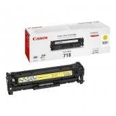 Canon Crg 718y Orjinal Sarı Toner