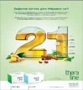 Thera Line 21 Günlük Bütüncül Detox Programı Seti (4lü Set)