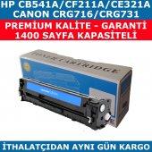 HP 125A/CB541A MAVİ MUADİL TONER CF211A/CE321A/CRG716/CRG731